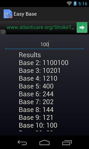 Easy Base Converter