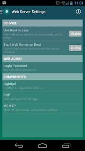Palapa Web Server - screenshot thumbnail
