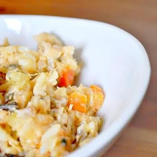 Chicken and Wild Rice Casserole.