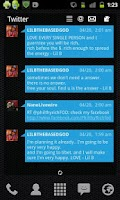 Screenshot of LP+ Windows Phone 7 Blue Skin