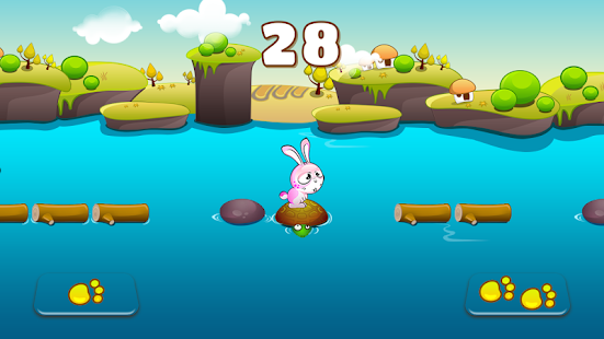 Jump & Jump - Bunny Run Screenshot
