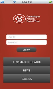 CNB Mobile Online Banking - screenshot thumbnail