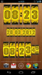 3D Rolling Clock GOLD - screenshot thumbnail