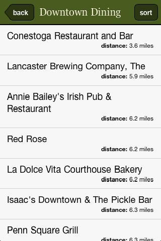 Lancaster County Guide - screenshot