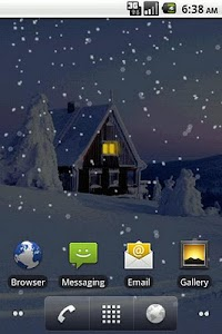 Snowfall Pro Live Wallpaper screenshot 1