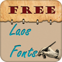 Laos Fonts Free Samsung S3 icon