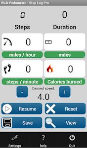 Walk Pedometer - Step Log Pro v1.0