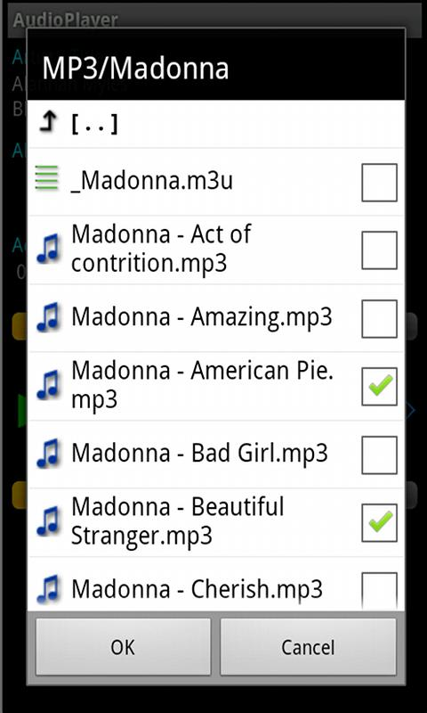 AudioPlayer- screenshot