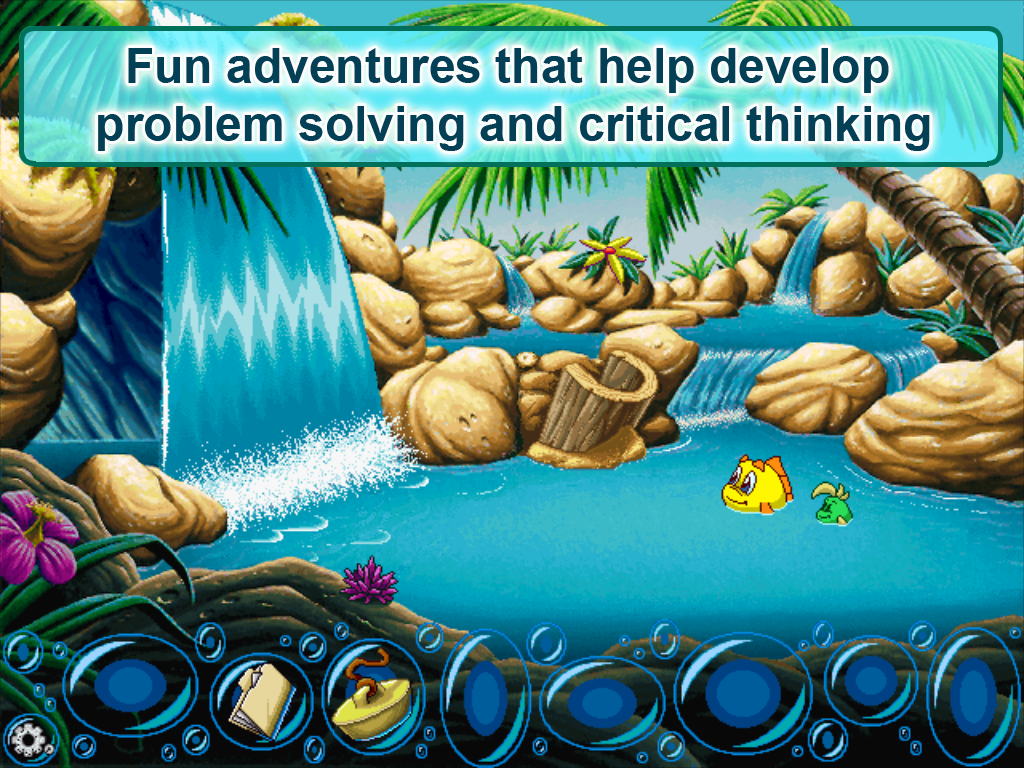 Freddi Fish & the Stolen Shell- screenshot