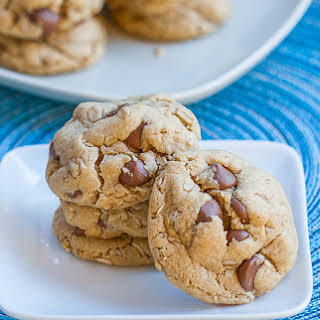 Outrageous Chocolate Chip Peanut Butter Cookies.