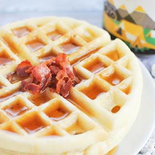 Maple Bacon Yeast Waffles