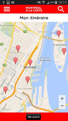【免費旅遊App】Montréal à la carte-APP點子
