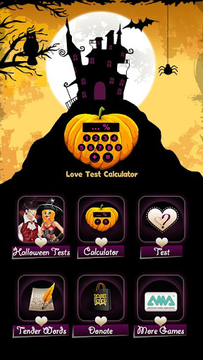 Love Test Halloween