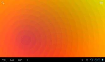 Screenshot of Nexus Waves Live Wallpaper