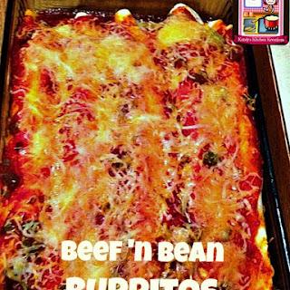 Beef 'n Bean Burritos.