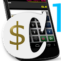 Calculator quotation business icon