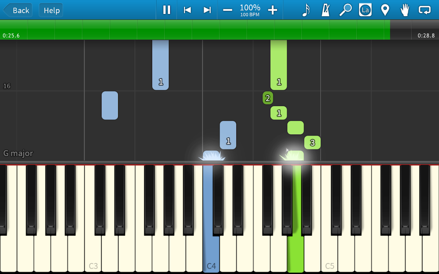 Synthesia- screenshot