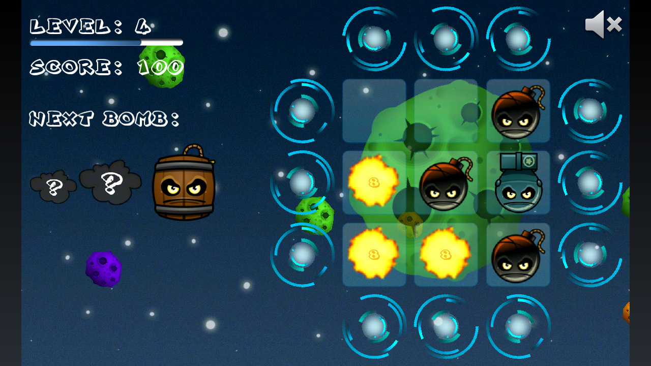 Space Bombs - screenshot