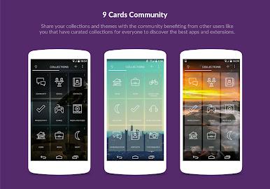 9 Cards Home Launcher Screenshot 4