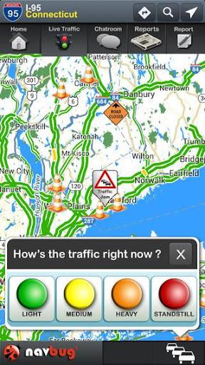 Navbug Traffic Accident GPS