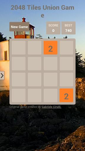 2048 Tiles Union Game