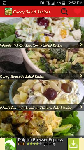 Curry Salad Recipes