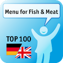 100 Menu for Fish & Meat Keywo logo