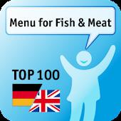 100 Menu for Fish & Meat Keywo
