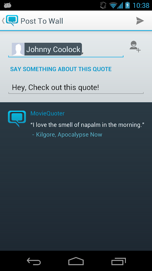 MovieQuoter - screenshot