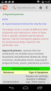 First Aid & Symptom Checker - screenshot thumbnail