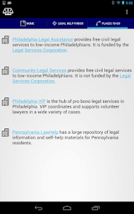 Legal Help Finder - screenshot thumbnail