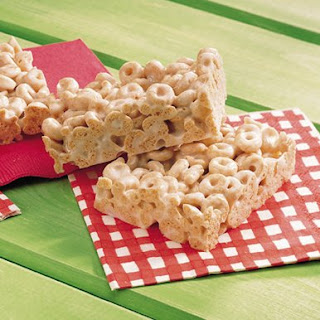 Cheerio Marshmallow Bars Recipes.
