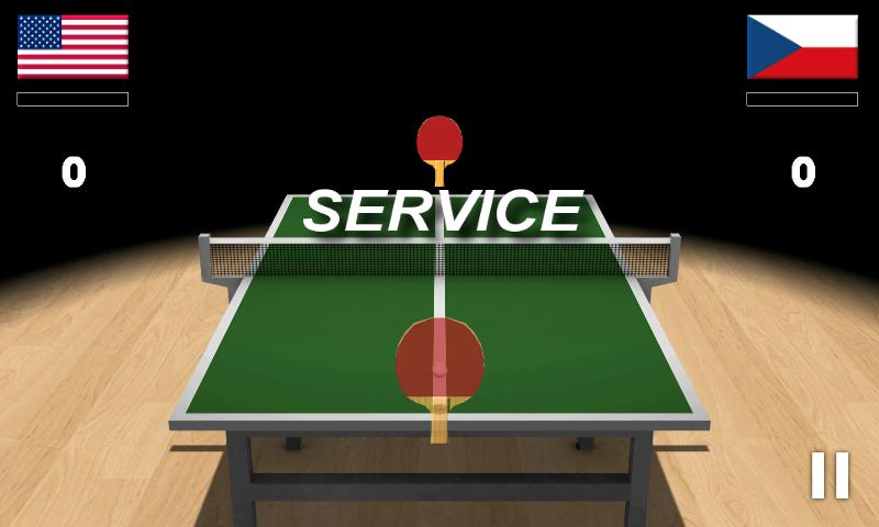 Virtual Table Tennis 3D Pro - screenshot