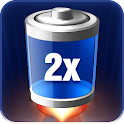 2x Battery – Battery Saver logo