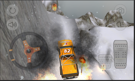 Hill Climb 4x4 Winter Racer