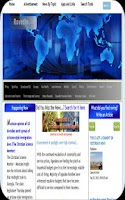 Screenshot of Find Your Daily News Headlines