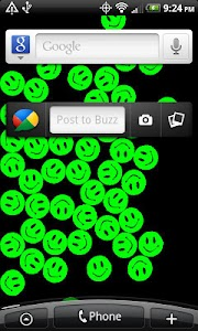 PowerSmileys Live Wallpaper screenshot 1