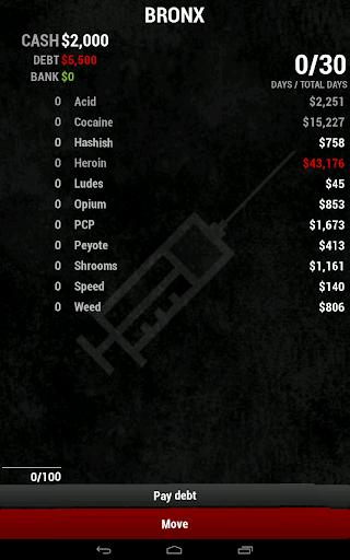 Dope Wars Classic screenshot