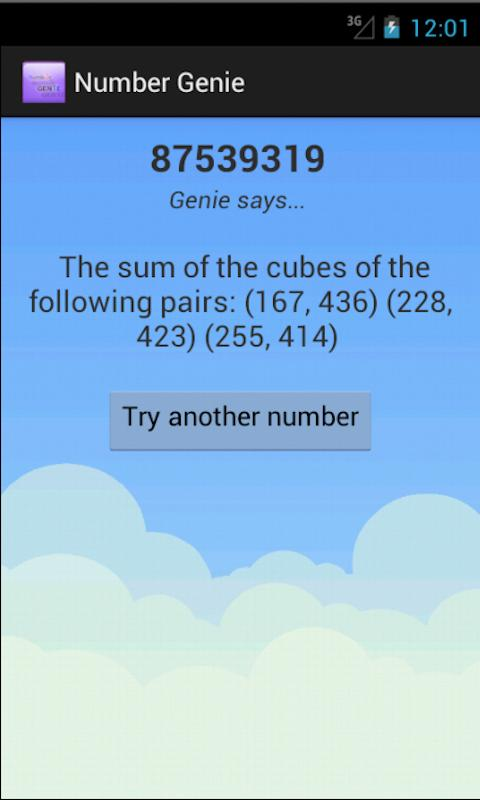Number Genie Version 2- screenshot