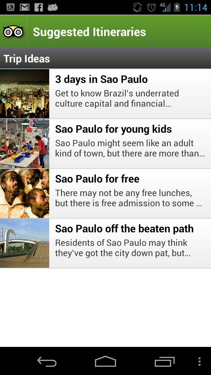 Sao Paulo City Guide screenshot #4