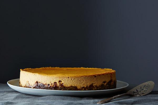 Hack that gourd, and eat some cheesecake.