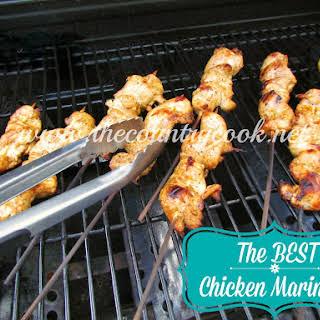 Grilled Chicken Skewers.
