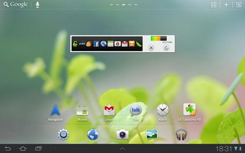 GO Launcher HD for Pad - screenshot thumbnail