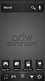 ADW Theme Darkroom - screenshot thumbnail