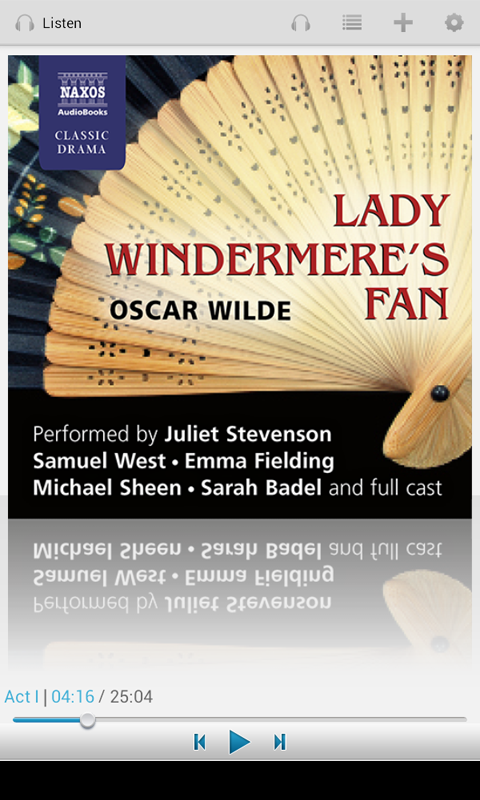 Lady Windermere's Fan - screenshot