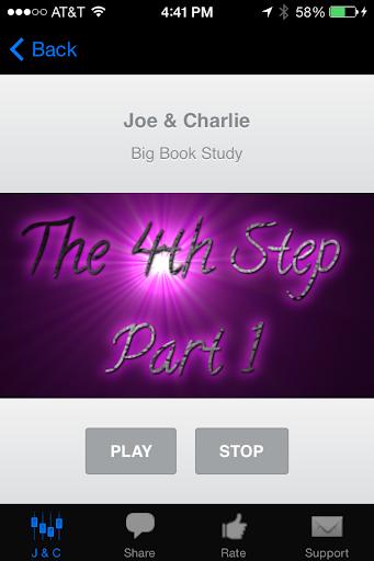 Big Book Study ~ Joe Charlie