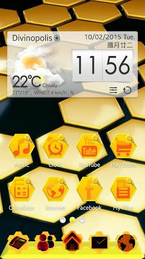 Bee GO Launcher EX Theme