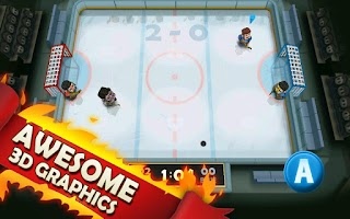 Screenshot of Ice Rage: Hockey Free