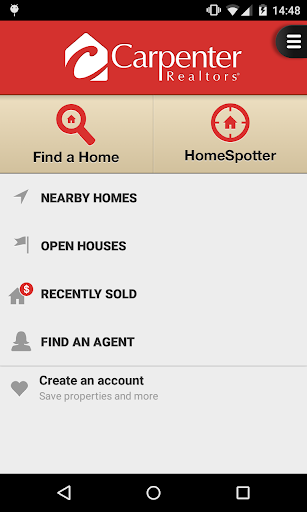 Carpenter Realtors Home Search