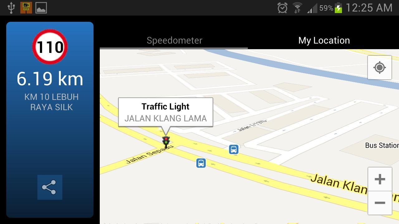 AES Location Detector - screenshot